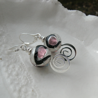 Murano Miro Glass Earrings