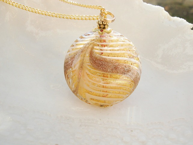 Huge Murano Glass Necklace