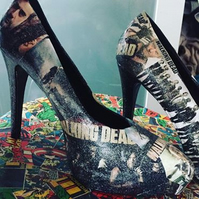 The Walking Dead TWD heels