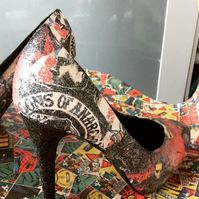 Sons of Anarchy SOA shoes heels