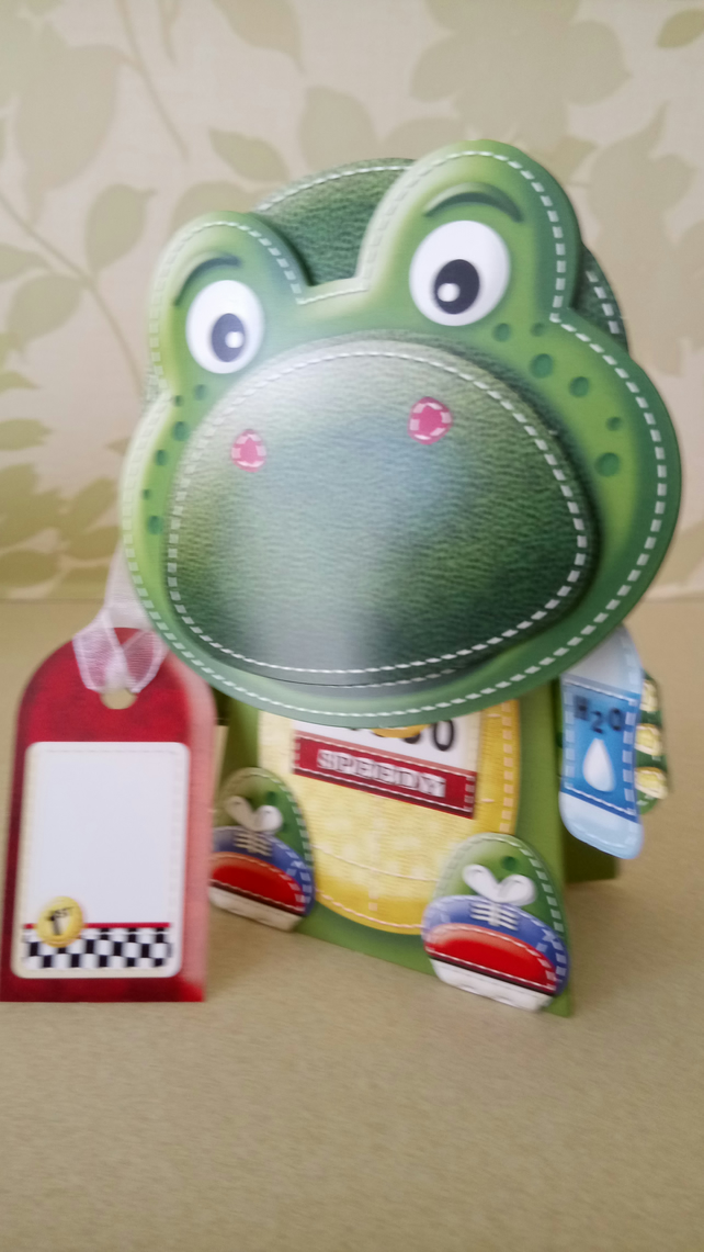 Tortoise novelty card