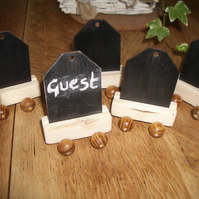 50 x Wedding mini blackboard table favours