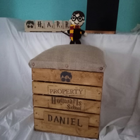 Harry Potter Personalised crate seat