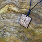Free Shipping-Vikings Jewelry-The Helm of Awe-Aegishjalmur Rune Necklace