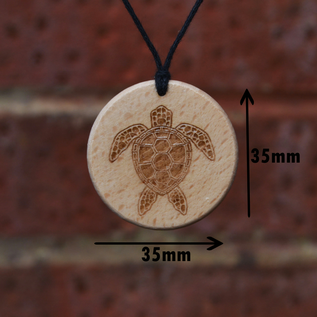 Free Shipping-Turtle Pendant Necklace, Handmade Gift. Amulet-Talisman.