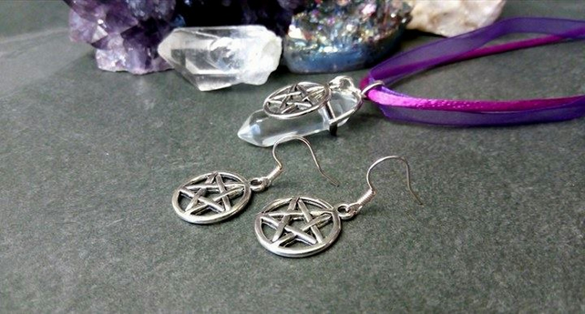 Quartz and Pentacle Gift Set
