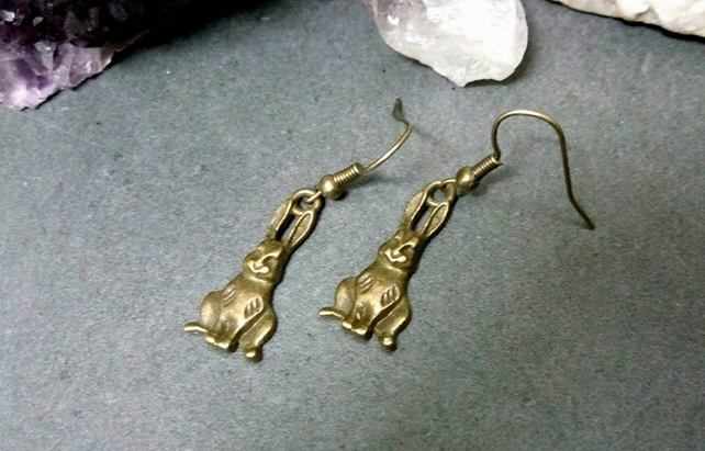 Hare Earrings