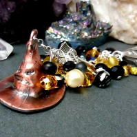 Hufflepuff Sorting Hat Bag Charm