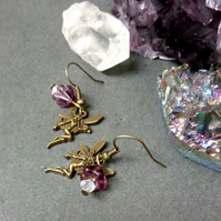Fairy and Flower Earrings