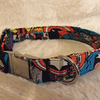 Marvel Superhero Handmade Adjustable Dog Collar