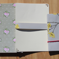 Boxed Stationery Set with luxury handmade floral envelopes