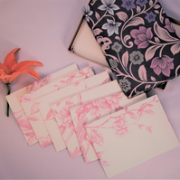 Stationery Letter Writing Set - Mothers day gift with a handmade gift box