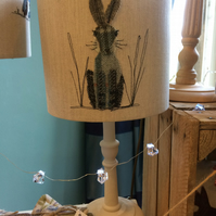 Blue Hare lamp