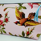 Large Song Bird and Butterfly Cosmetic Make Up Case