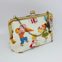 Sweet Treats Kisslock and Charm Purse