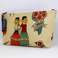 Frida Kahlo Print Cotton Case
