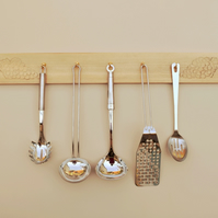 Kitchen Utensils Hook Rack