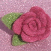 Roses Felt Workshop