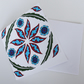 Ottoman Inspired Pattern Blank Greeting Card - 15 x 15cm