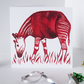 Okapi Artwork Blank Greeting Card - 15 x 15cm