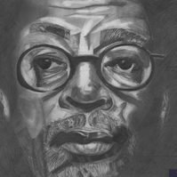 Spike Lee portrait