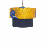 Blue Star Lampshade