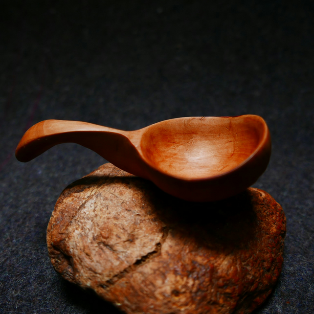 Small Applewood Ladle and Scoop