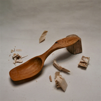 Handcarved Birch Spoon