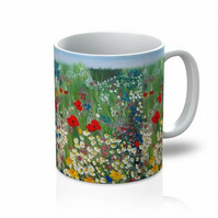 Floral Treasures Ceramic 11oz mug drinkware for dining