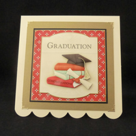 Congratulations on your Graduation 3d Card - Unisex
