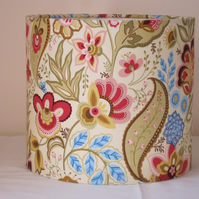 Handmade Fabric Lampshade, Floral, Shabby Chic 20cm
