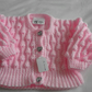 Baby Girls Sparkle cardigan 3-6 months