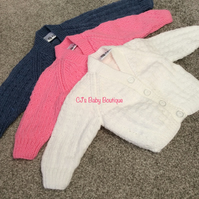 Babies Cardigan's 3-6 months suitable for Boys or Girls