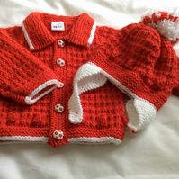 Baby Boys Jacket and Hat to match