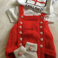 Baby Boys Traditional Romper Outfit