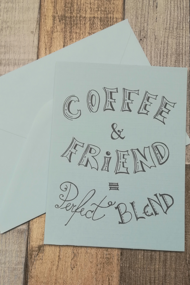 Birthday Card For Coffee Lover Friend Friendship