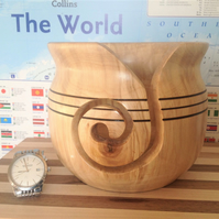 English Beech Yarn Bowl