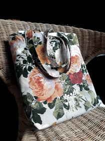 Shoulder floral Tote Bag,