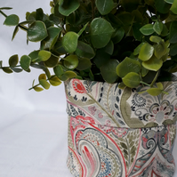 Plant pot, Fabric Pot, Indoor Plant Pot, Fabric Storage,