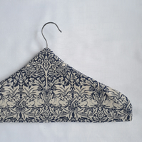 Padded Hangers with William Morris fabric