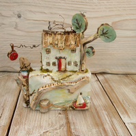 Driftwood Wooden Cottage