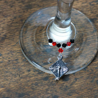 Graduation Gift - Wine Glass Charm - Mortarboard Charms - Gifts Ideas