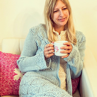 Shelley Cardigan Knitting Pattern (PDF File)