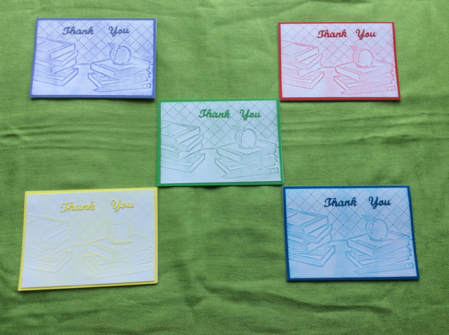 Thank You - Teacher - Pack of 5