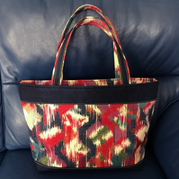 Handcrafted Beautiful Fabric Tote Bag.