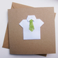 Father's Day Card - Green Tie