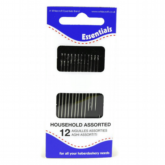 Whitecroft Essentials 12 Assorted Hand Needles