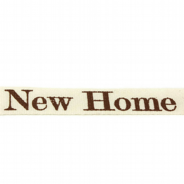New Home Ribbon - 15mm