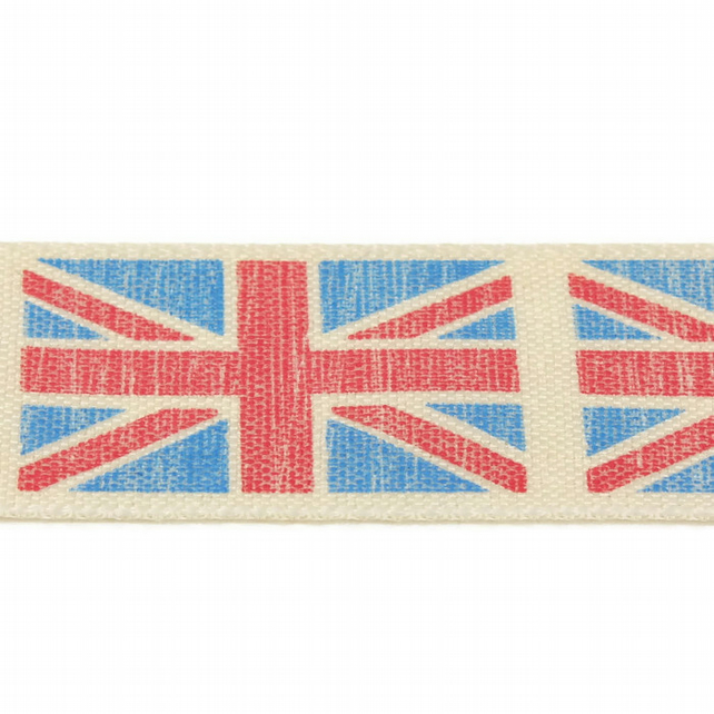 Union Flag Ribbon - 25mm