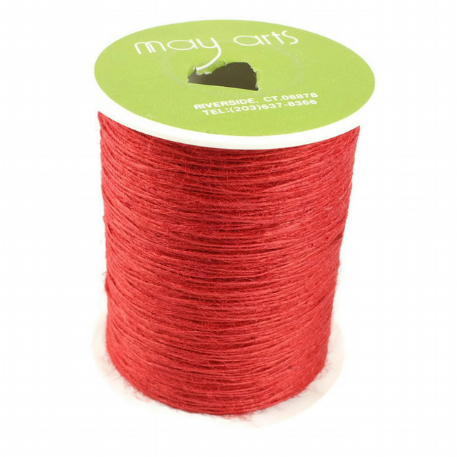 Burlap String - Red